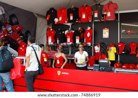 Clothes stores Ferrari clothing store usa
