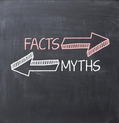 Separate myths versus facts