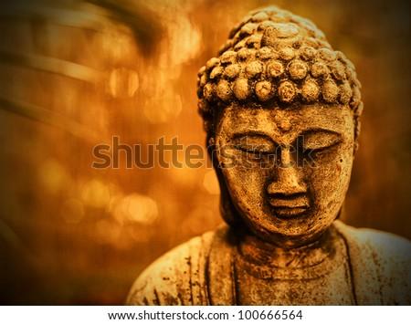 Sepia Buddha