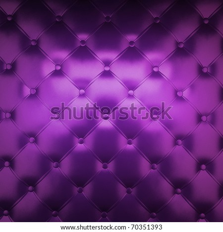 Sepia luxury buttoned purple leather