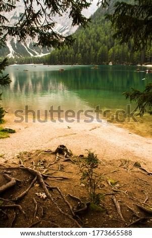 September in Lake of Braies - Dolomiti