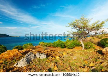 Seraya island. Komodo national park