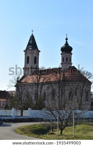 Serbian orthodox Monastery Fenek from 15th century, medieval Monastery Stock fotó ©