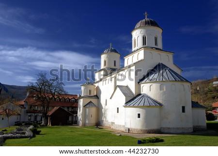 Serbian Orthodox Monastery Mileseva, bulit in 1235