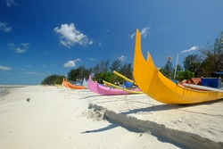 Serdang Beach is one of the beautiful beaches located in the city of Manggar which is the capital of East Belitung regency.