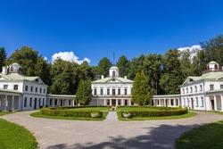 Serednikovo manor - park-manor ensemble of the late XVIII-early XIX century. Moscow oblast. Russia