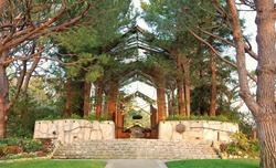 Serene and peaceful Wayfarers chapel