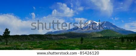Serene mountain view california, USA