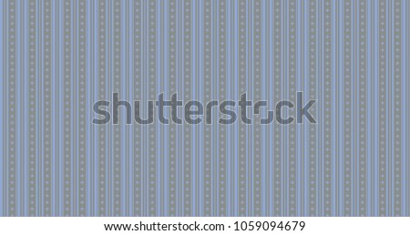 Serenity on neutral gray color plus signs and stripes pattern ornament decorative background with geometric shapes. Colorful wrapping paper or backdrop. #1059094679
