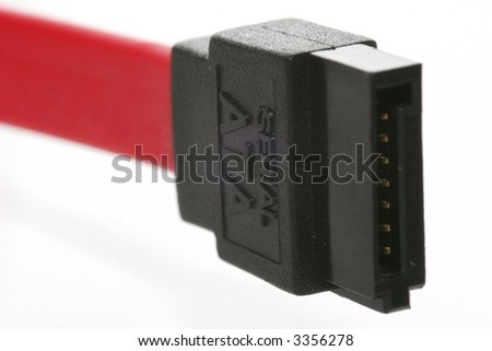 serial ata cable and plug