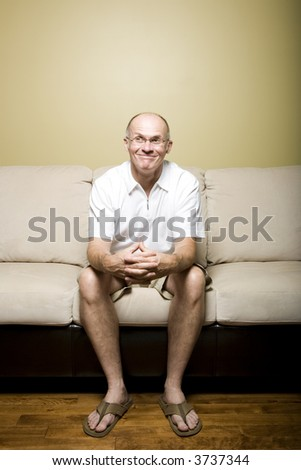 Series of lifestyle pictures featuring a senior male.
