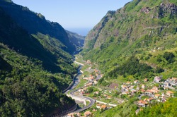 Serra de Agua valley on Madeira island - Portugal