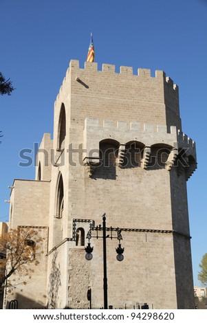 Serrano towers, Valencia old city, Spain