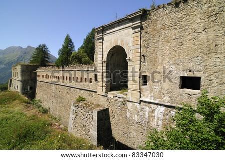 Serre Marie fort - 1892 - Piedmont, Italy