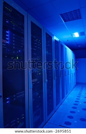Server room and devices