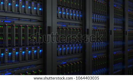 Servers in modern data center
