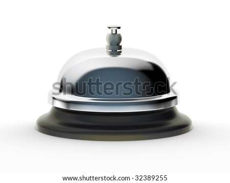 Service Bell (with clipping path)