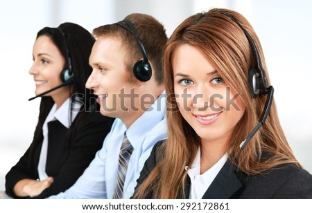 Service, Customer Service Representative, Call Center.