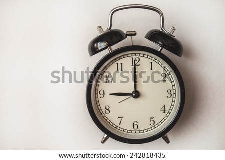 service time watch clock dial morning lesson lecture break waiting white background