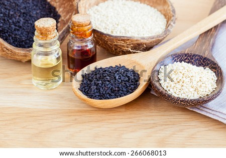Sesame - Natural spa ingredients  for Scrub and  skin care.