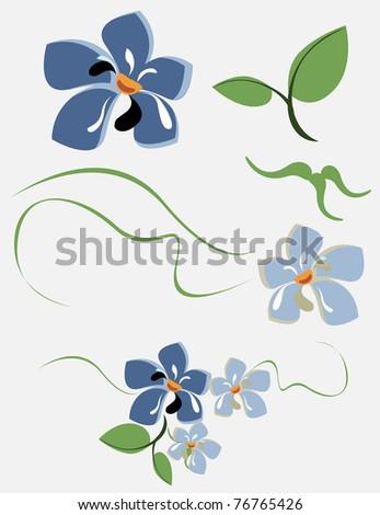 Set a different flower an element