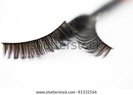set for eyelash makeup