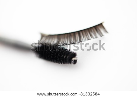 set for eyelash makeup