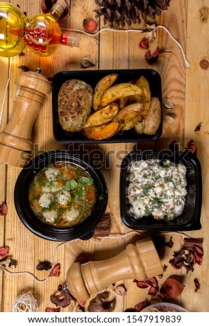 set Lunches or business Lunches
