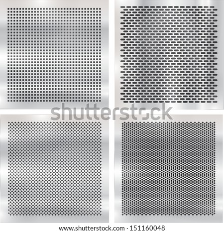 Set metal grids.  #151160048