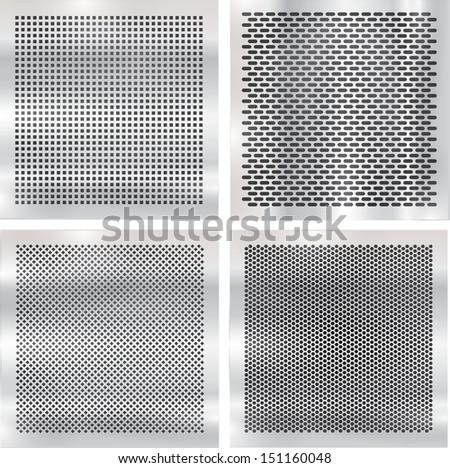 Set metal grids.  #151160048