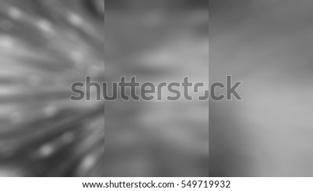 Set of abstractions picture. Three background grey illustration. #549719932