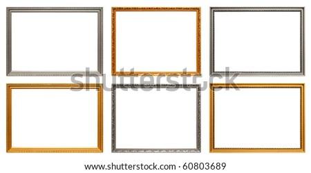 Set of art frames