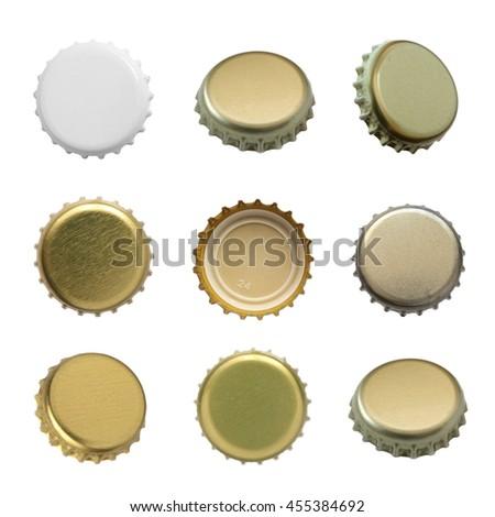 Set of beer caps