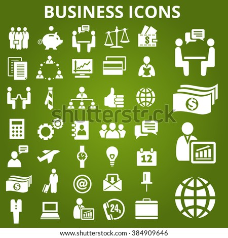 Set of business icons. Business icons set. Business icons illustration. Business icons set jpeg