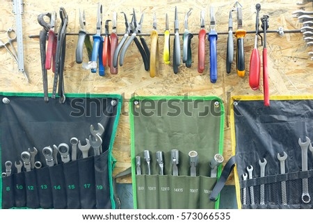 Set of different tools #573066535