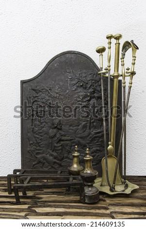 Set of Fireplace Tools #214609135