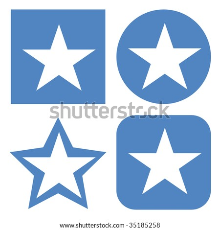 set of 4  flag buttons of somalia