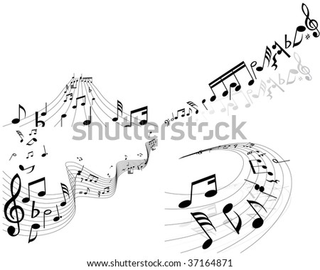41atis Coloring Pages Musical Notes Music Staff