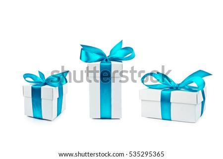 set of gift box isolated #535295365