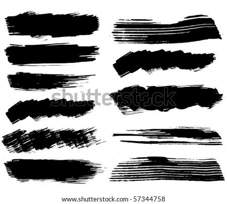 set of ink blots.raster