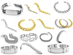 Set of jewelery - Bracelets for men and women