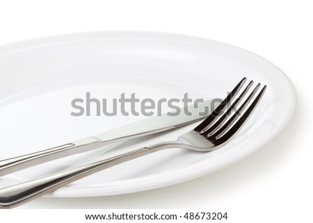 Set of kitchen object  on a white background.