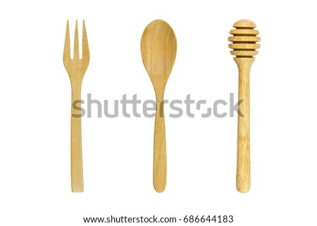 Shutterstock set of kitchenware isolated on white background