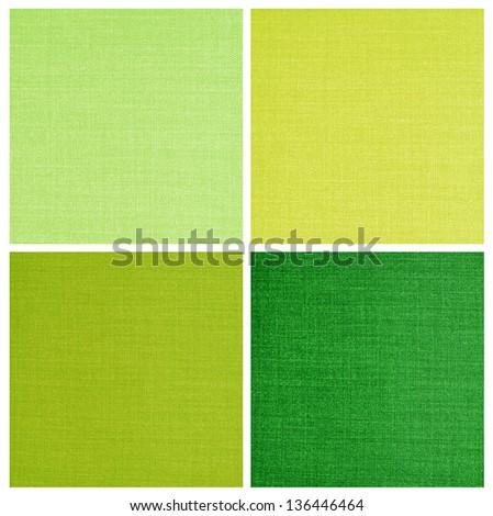 set of Linen canvas texture