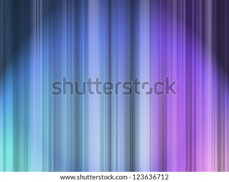 Set of many color vertical lines