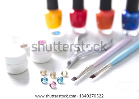 Set of nail tools #1340270522