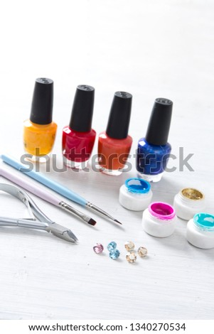 Set of nail tools #1340270534