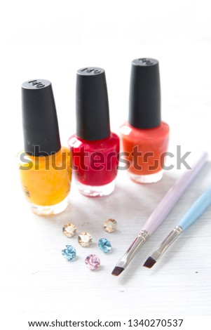 Set of nail tools #1340270537