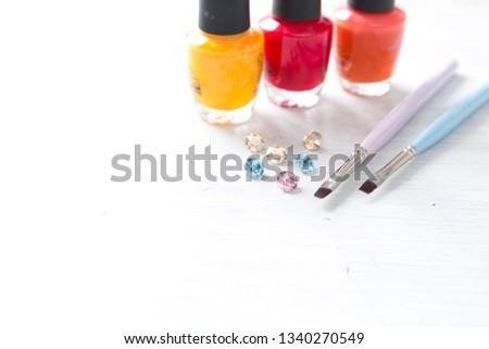 Set of nail tools #1340270549