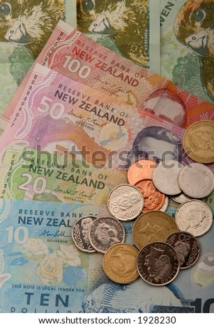 Set of New Zealand Currency. $100 $50 $20 $10 $2 $1 50c 20c 10c
